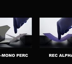 REC Alpha cell advantage: bending comparison