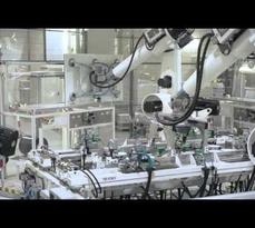 (DEU) Videotour durch RECs automatisierte Produktionsstätte in Singapur